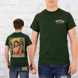 Rietveld Herren T-Shirt Mona Kea grün