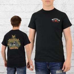 Rietveld T-Shirt Herren Speedfreak schwarz