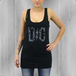 DC Shoes Damen Longshirt Kleid Rose Logo Dress black
