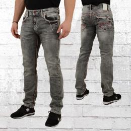 Rusty Neal Männer Jeans New York 45 grau