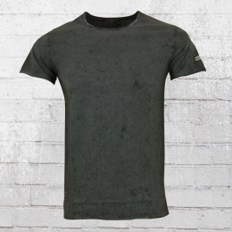 Rusty Neal Vintage T-Shirt Herren grau schwarz