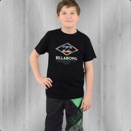 Billabong Kinder T-Shirt Sapriss Boys schwarz