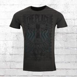 Scorpion Bay Herren T-Shirt Jersey Fuel Vintage anthrazit