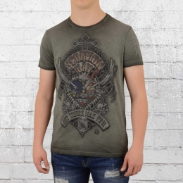 Scorpion Bay T-Shirt Fuel Heart vintage grau