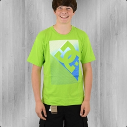 DC Shoes Kinder T-Shirt Shade lime grün