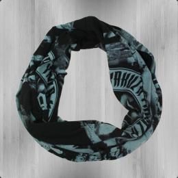 Yakuza Herren und Damen Schlauch Schal Skull SLB 7207 schwarz