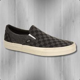 VANS Schuhe Classic Slip On Overwashed schwarz grau