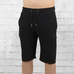 Smith and Jones Herren Sweat Short Marlin schwarz