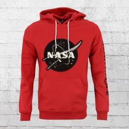 Southpole Kapuzensweater Nasa Insignia Logo rot