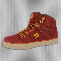DC Shoes Winter Männer Schuh Spartan High WC WNT rot