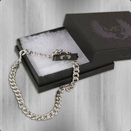 Masterdis Stainless Steel Necklace 10 mm Glieder Kette silver
