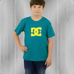 DC Shoes Star Kinder T-Shirt caribean blue