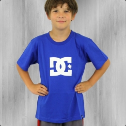 DC Shoes Kinder T-Shirt Star Tee Boys olimpia blue