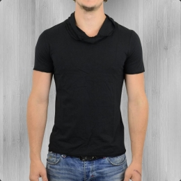 Ato Berlin Herren T-Shirt Stein aus Bio-Baumwolle schwarz
