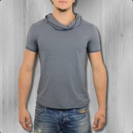 Ato Berlin Herren Organic Cotton T-Shirt Stein grau