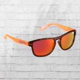 Superdry Sonnen Brille SDS Rockstar 102 dunkelbraun orange