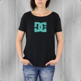 DC Shoes Frauen Oversized Shirt Terence schwarz