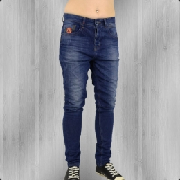 Fuga Jeans Hose Damen Tomboy Boyfriend Cut orange tinted