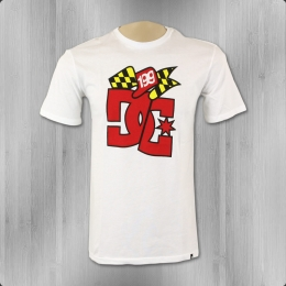DC Shoes Travis Pastrana Herren T-Shirt TP Winner Tee white