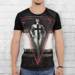 Trueprodigy Männer T-Shirt Girl weiss