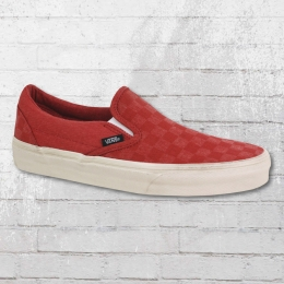 VANS Classic Slip On Overwashed Schuhe rot