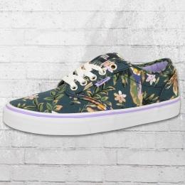 Vans Damen Sneaker Atwood Floral blau bunt