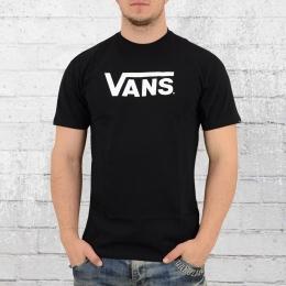 VANS Herren T-Shirt Classic schwarz weiss