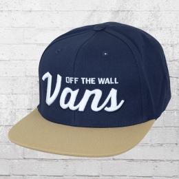 Vans Mütze Wilmington Snapback Cap dunkelblau khaki
