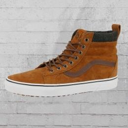 Vans Schuhe Sk8 High MTE Glazed Ginger gefütterter Sneaker braun