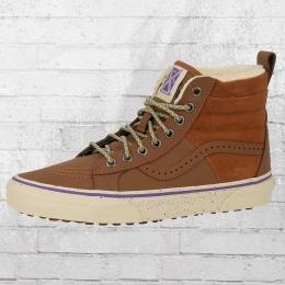 Vans Schuhe Sk8 High 46 MTE Hana Beaman gefütterter Sneaker braun