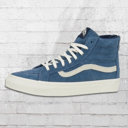 Vans Unisex Schuhe Sk8 High Slim Zip Scotchgard blau