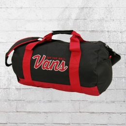 VANS Sporttasche Anacapa Duffel Bag schwarz rot
