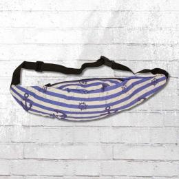 Viper Bauchtasche Anker Vintage blau