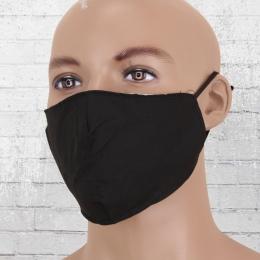 Viper Baumwoll Maske Mund-Nasen-Schutz verstellbar schwarz
