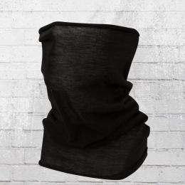 Viper Biker Tube Schal Uni schwarz
