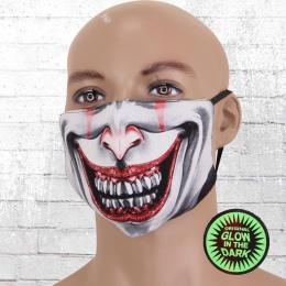 Viper Maske Glow In The Dark Joker bunt