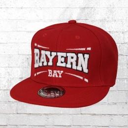 Viper Snapback Flatbrim Cap Bayern rot