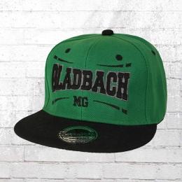 Viper Snapback Flatbrim Cap Mönchengladbach grün