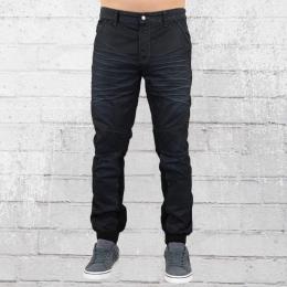 Voi Männer Jeans Hose Bishop Skinny Cuff black