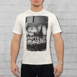 White Rabbit Herren T-Shirt White Line weiss