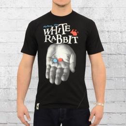 White Rabbit Männer T-Shirt XTC Follow schwarz