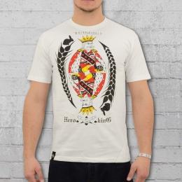 White Rabbit T-Shirt Herren Hero King weiss