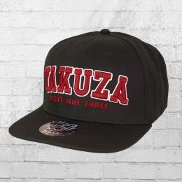 Yakuza College Snapback Cap schwarz