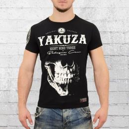 Yakuza Daily Skull T-Shirt Herren schwarz