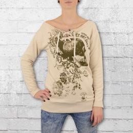 Yakuza Frauen Sweatshirt Comes Cord Sweater 9150 sand