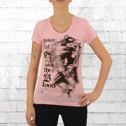 Yakuza Frauen T-Shirt Taste Blood 10115 pink