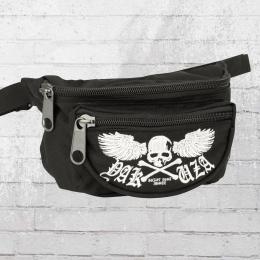 Yakuza Skull Wings Hip Bag black