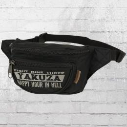 Yakuza Happy Hour Gürteltasche 10201 schwarz