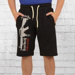 Yakuza Herren Sweat Shorts Armed Society SSB 10038 schwarz