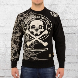 Yakuza Herren Sweater Thorns 11016 schwarz